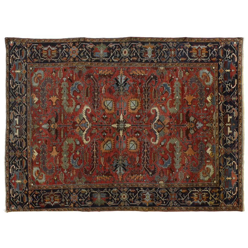 Heriz carpet, ca. 1920, 11'8