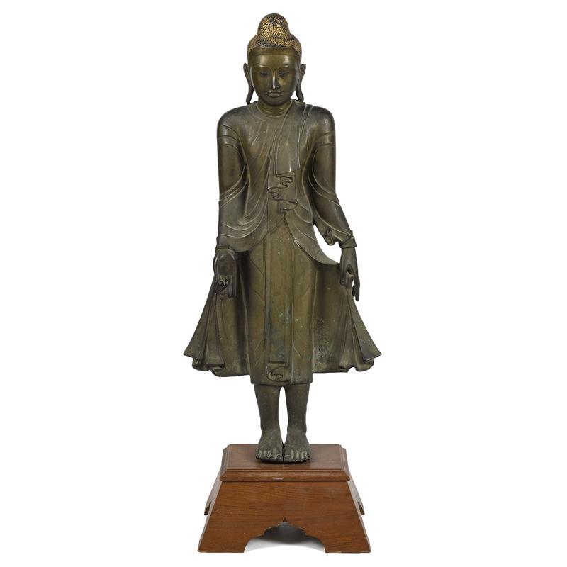 Chinese bronze Buddha, 19th c., 34