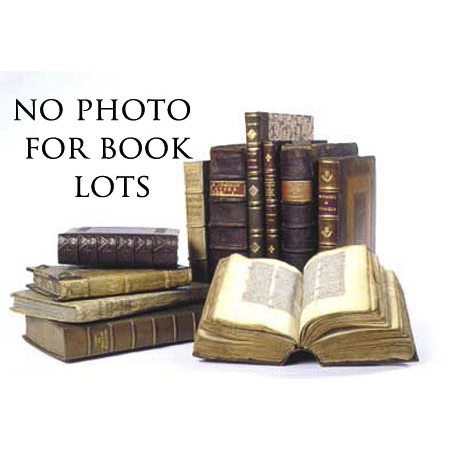 Large group of antique reference books.