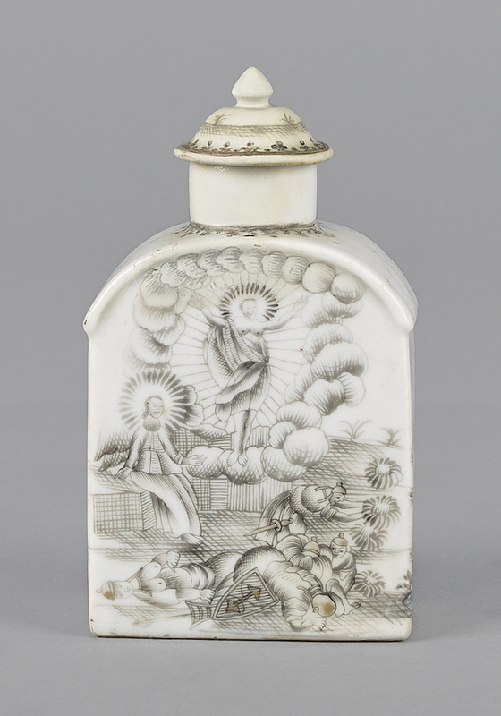 Chinese export porcelain, mid 18th c., to include