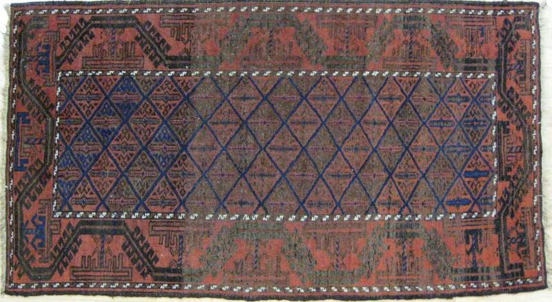 Turkoman carpet, early 20th c., 5'6