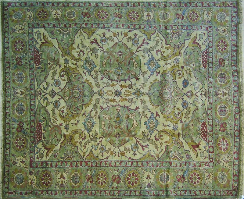 Oushak carpet, 8'9