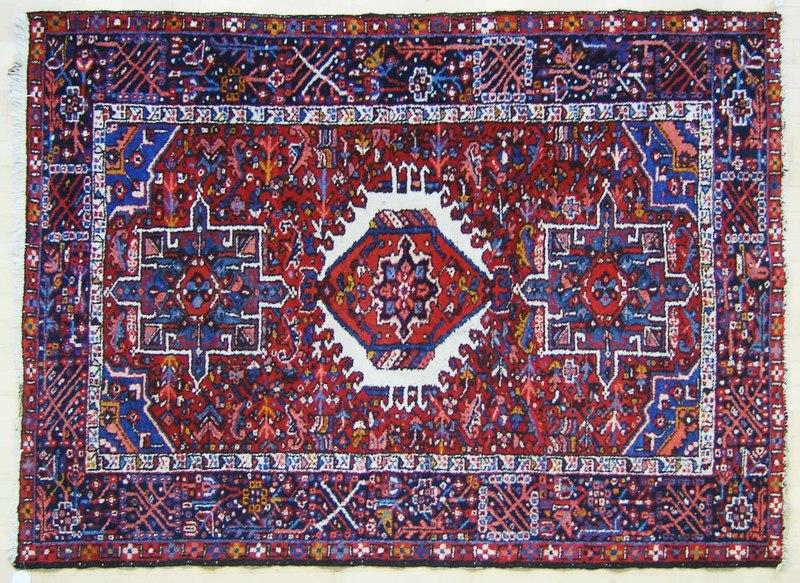 Garavan throw rug, ca. 1940, 6'4