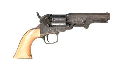 Colt model 1849 pocket revolver, .31 caliber withn
