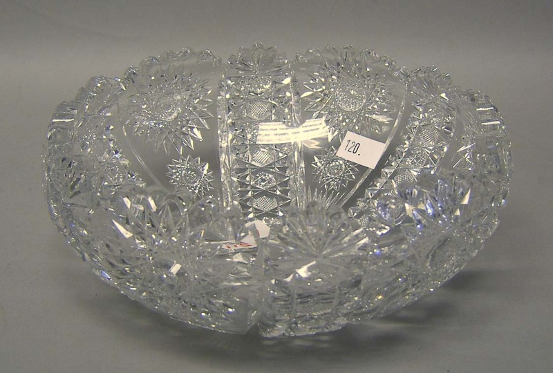 Hawkes cut glass bowl, 4 1/2