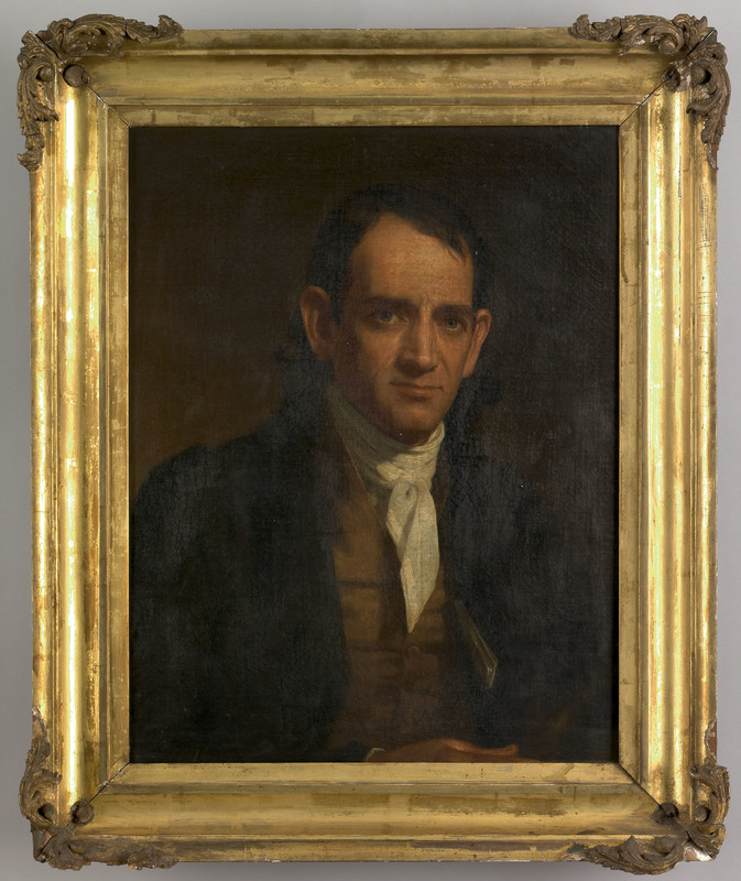Philadelphia oil on canvas portrait of a gentleman