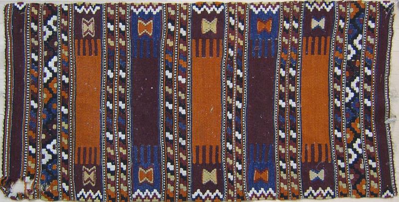 Three Kilim mats, largest - 3'6