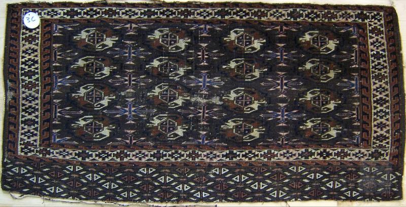 Baluch mat, 4' x 2'6