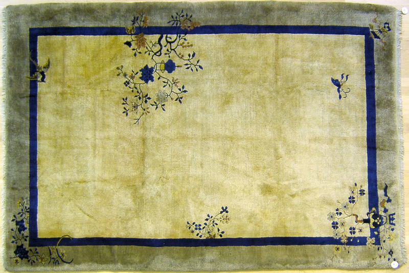 Semi-antique roomsize Chinese rug, 8'9