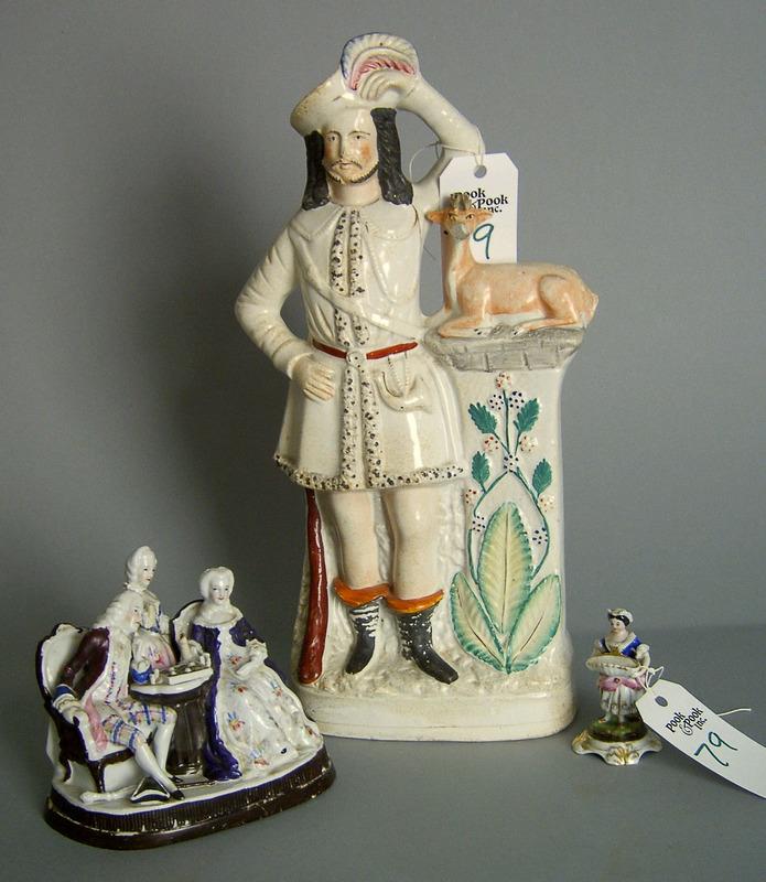 Staffordshire figure, 19th c., 16 1/2