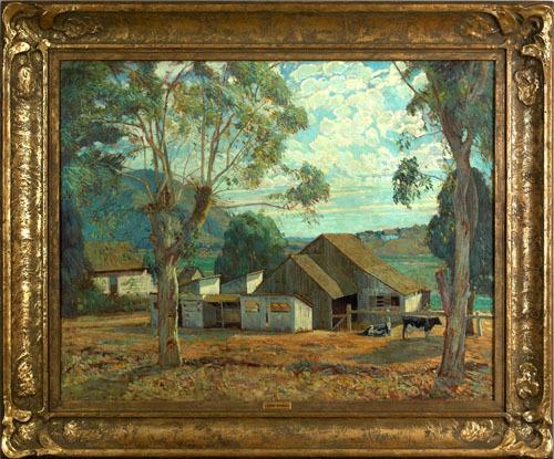 Alfred Richard Mitchell(American, 1888-1972), oiln
