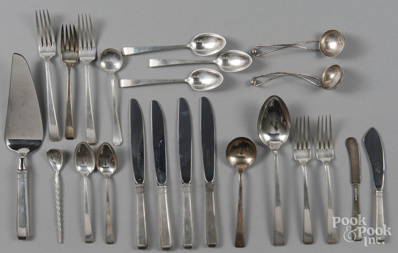 Towle craftsman pattern sterling flatware