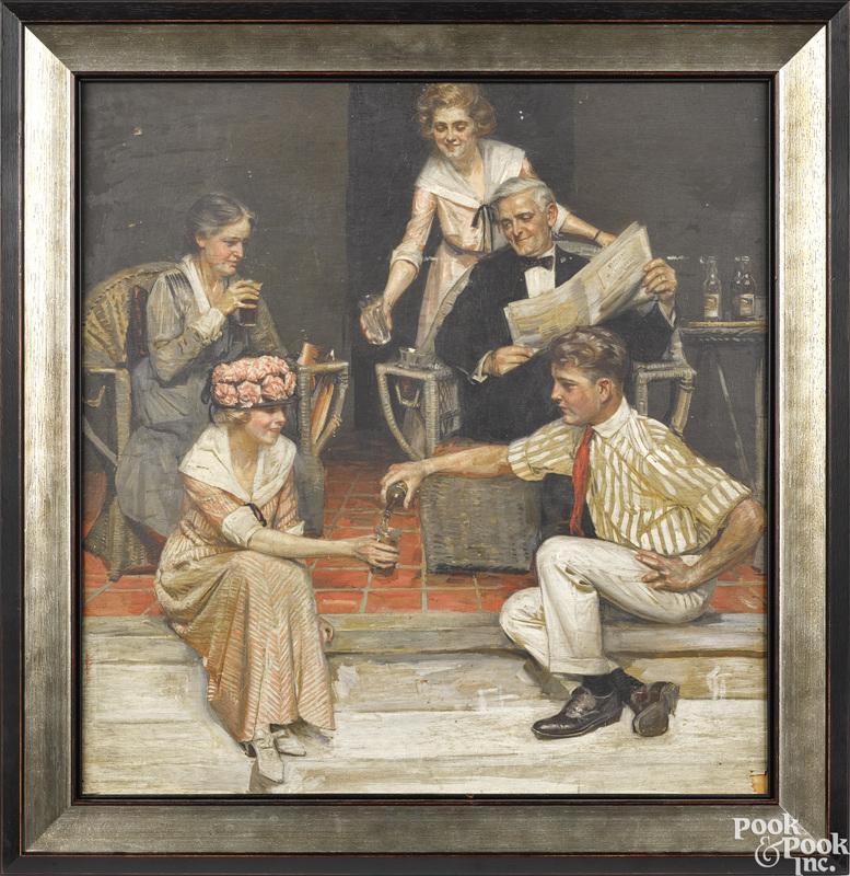 Attrib. to Joseph Leyendecker (American 1874-1951)
