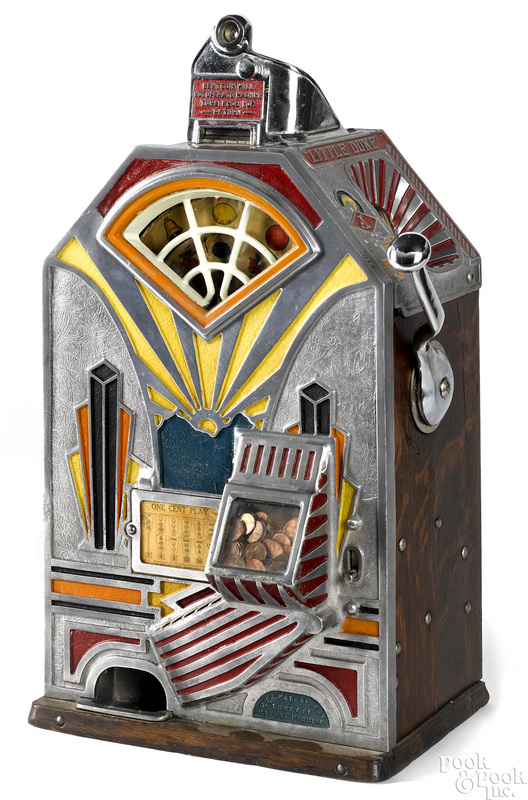 Jennings 1-cent Little Duke slot machine