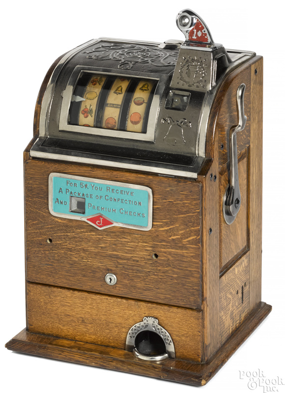 Jennings 1-cent Confection trade stimulator