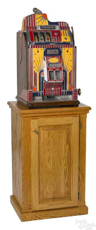 Jennings 10-cent Century Vendor slot machine