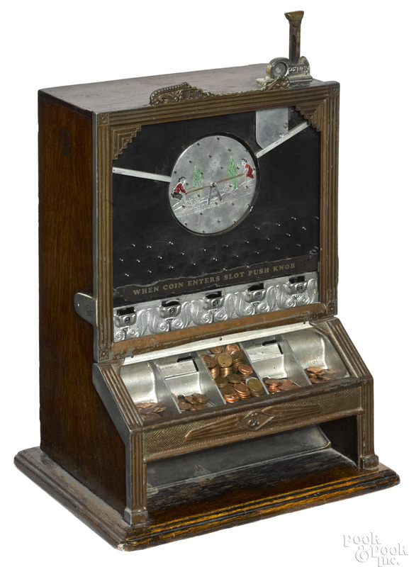 Jennings 1-cent Rockaway trade stimulator
