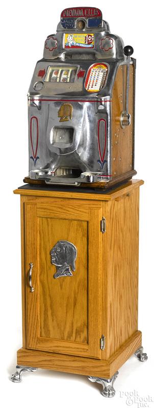 Jennings} 1-dollar Nevada Club slot machine
