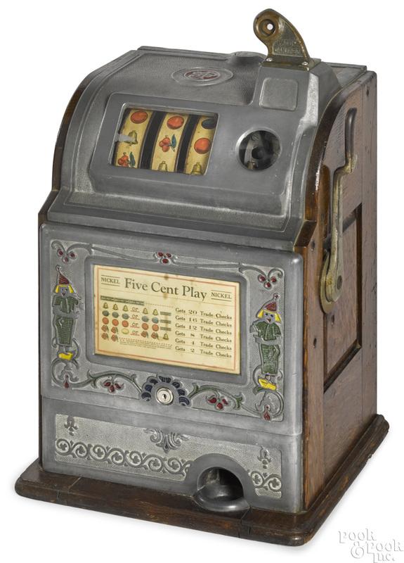 Jennings 5-cent Dutch Boy slot machine
