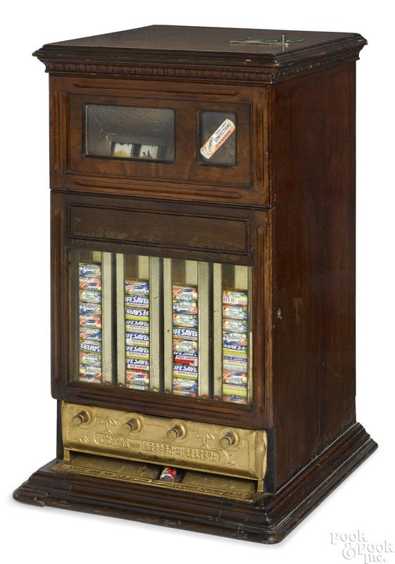 Jennings 5-cent Confections trade stimulator
