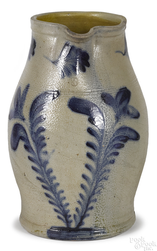 Large Pennsylvania Remmey stoneware pitcher