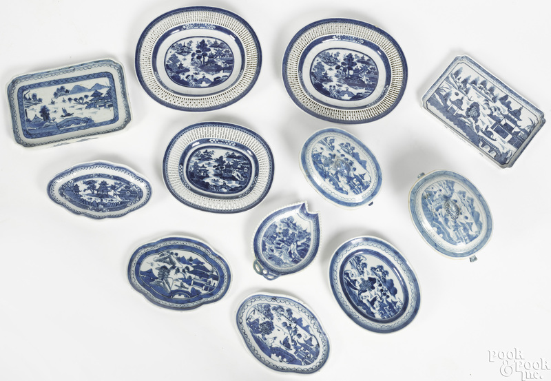 Chinese export Canton and Nanking porcelain