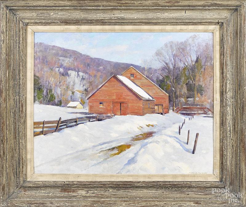 Allen Cochran winter landscape