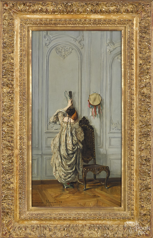 Louis Monzies interior scene