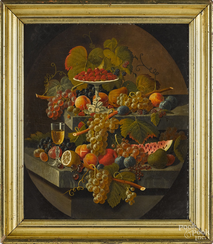 Attributed to Severin Roesen, still life