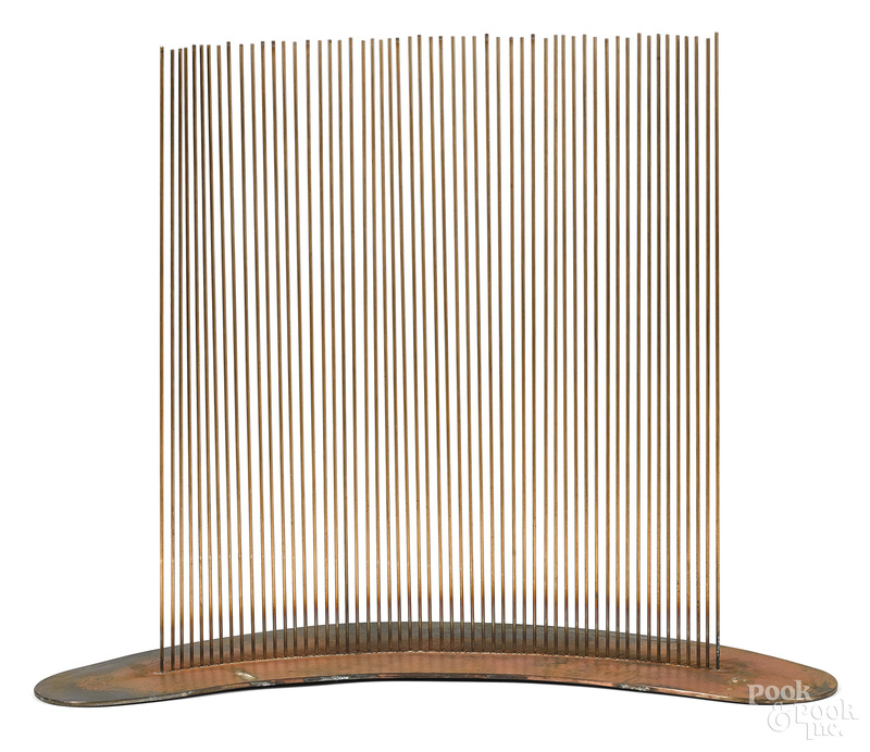 Val Bertoia, beryllium copper sound sculpture