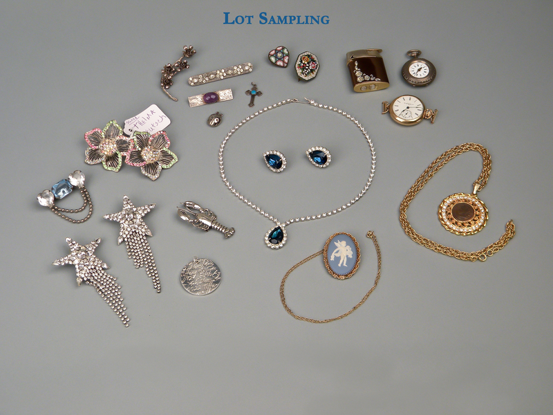 Large group of costume jewelry.