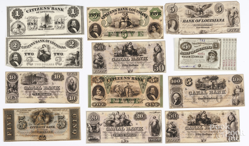 Louisiana bank notes