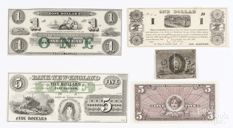 Paper notes and currency