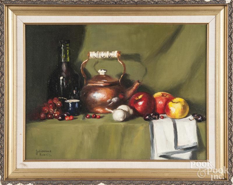 Julieanne Harris, oil on canvas still life
