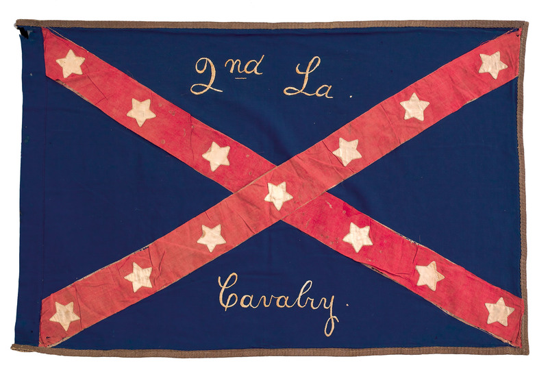 An important Confederate Civil War flag for the 2