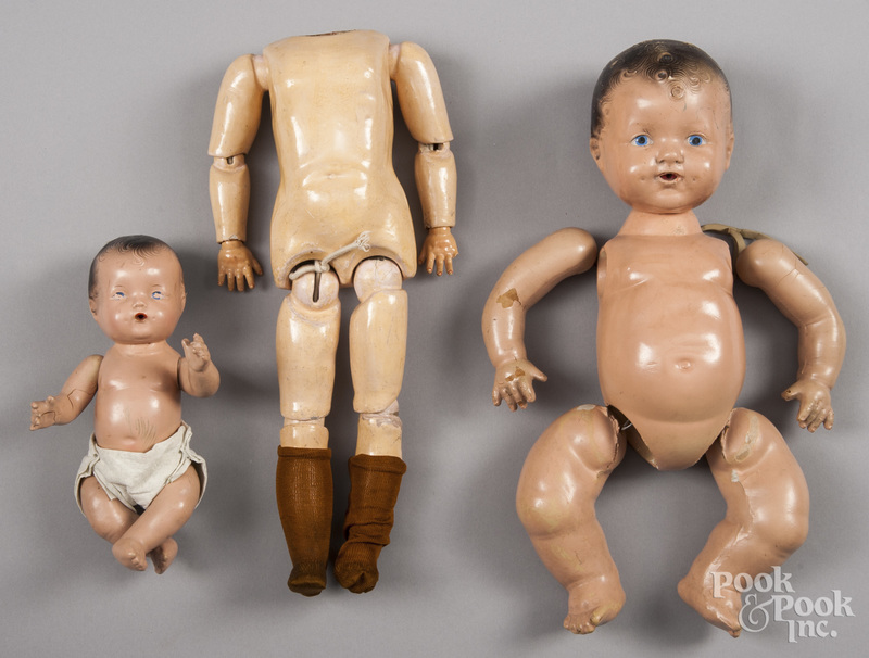 Miscellaneous doll body parts