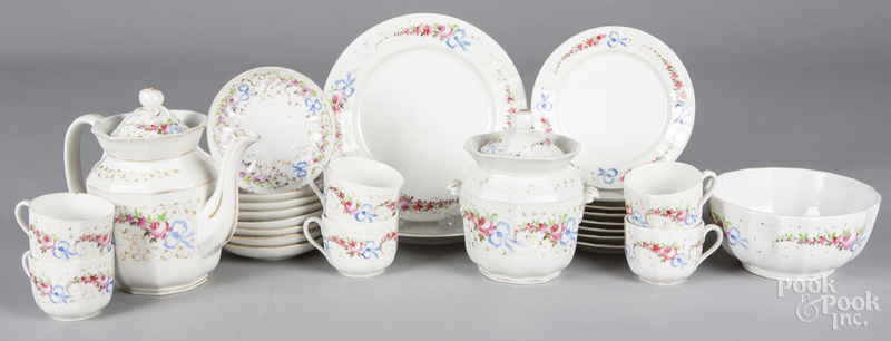 Collection of hard paste china