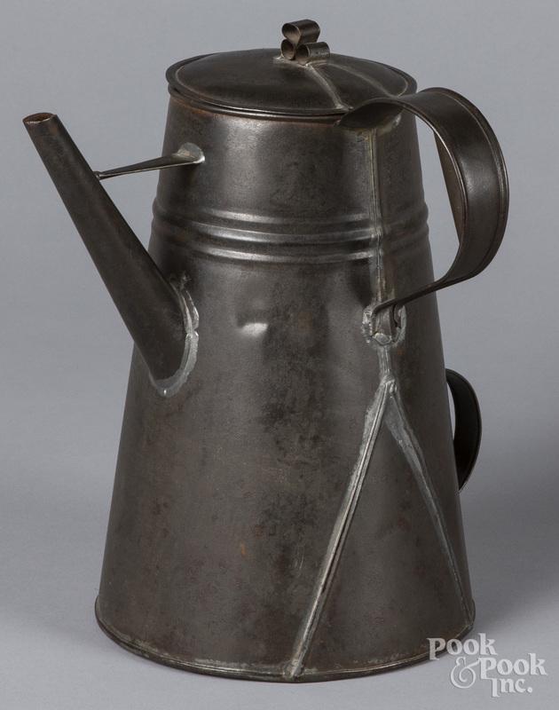 Tin hot water kettle