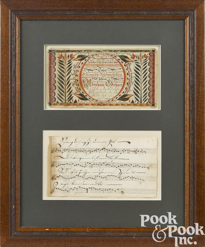 David Kulp ink and watercolor bookplate