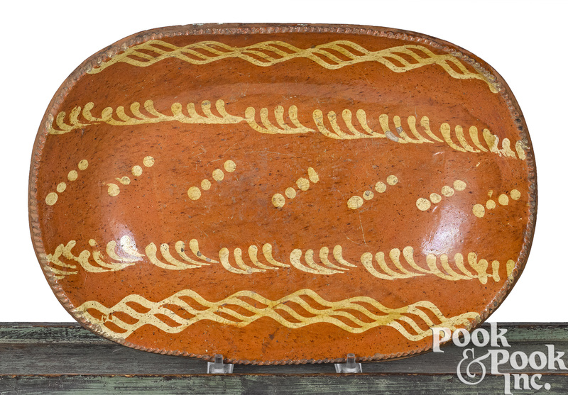 Pennsylvania redware loaf dish