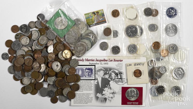 US coins, etc.