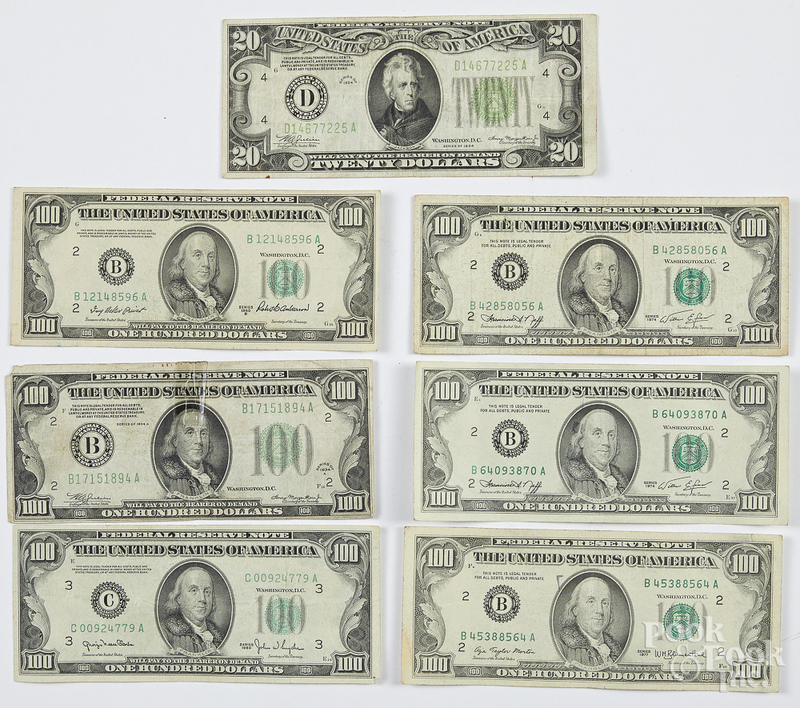 US paper currency, $620 face value.