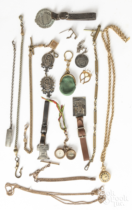 Assorted group of jewelry, etc.