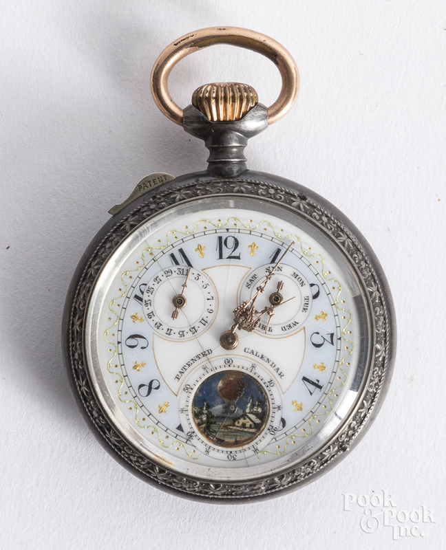 Unsigned pocket watch