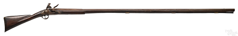 Colonial American flintlock long fowler