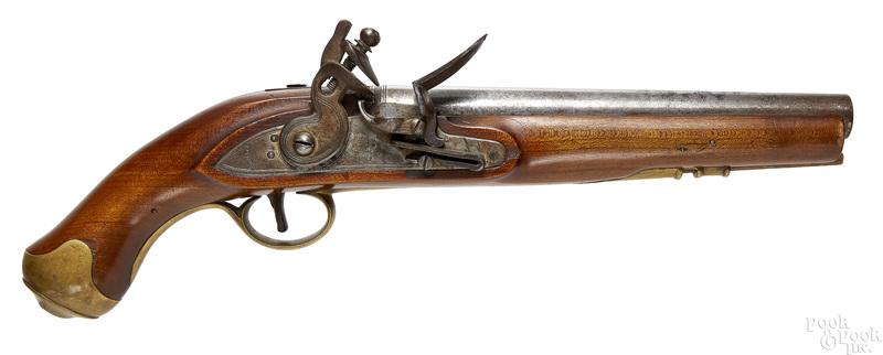 Reproduction British Tower flintlock pistol