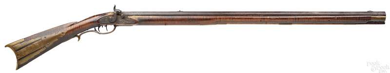 David Douglass full stock flintlock long rifle