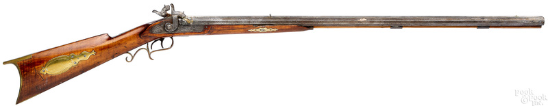 J. W. H. Moll half stock percussion double rifle