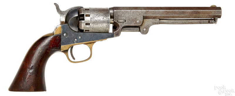 Manhattan Firearms percussion revolver