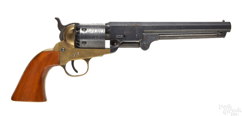 Italian reproduction percussion Colt Navy revolver